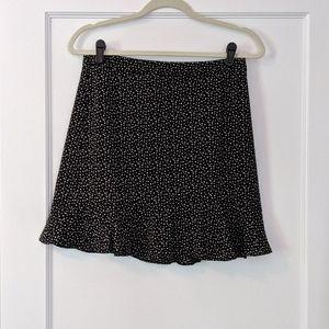 NWT J. Crew Factory Star Print Skirt Size 2